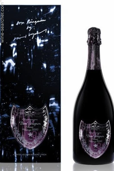 Dom Perignon Brut Rosé David Lynch 1998