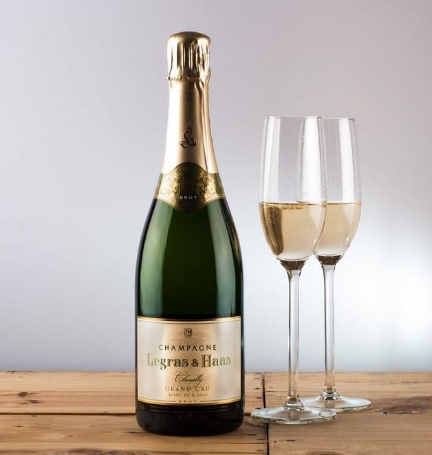 champagne legras haas grand crus blanc de blanc - 36.50€