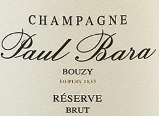 Champagne Paul Bara Brut - 23.89€