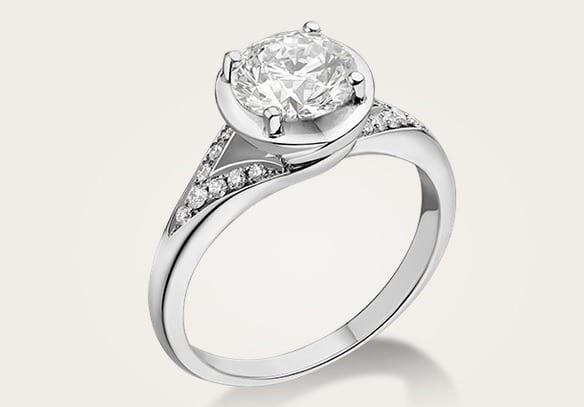 bague bulgari incontro d amore diamant luxe femme mariage luxymind produits et services de. Black Bedroom Furniture Sets. Home Design Ideas