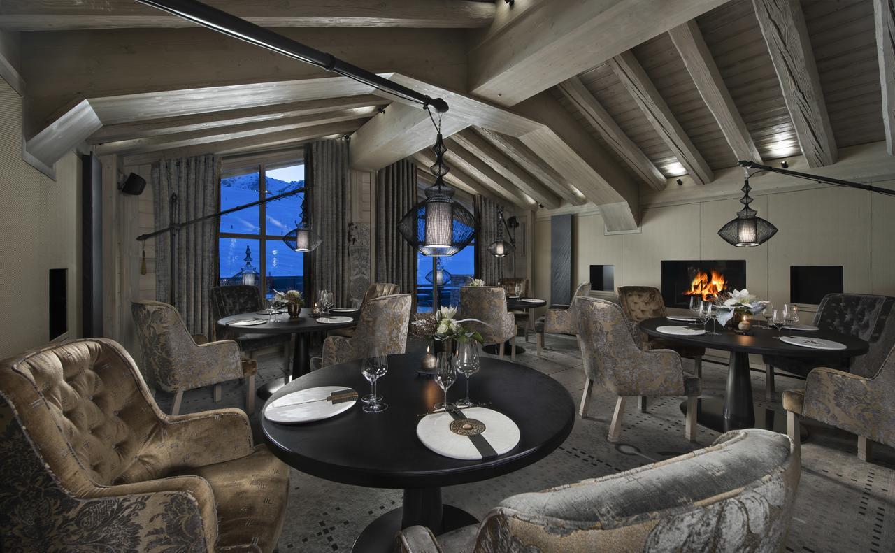 Hotel K2 altitude Courchevel vue montagne perdu luxe