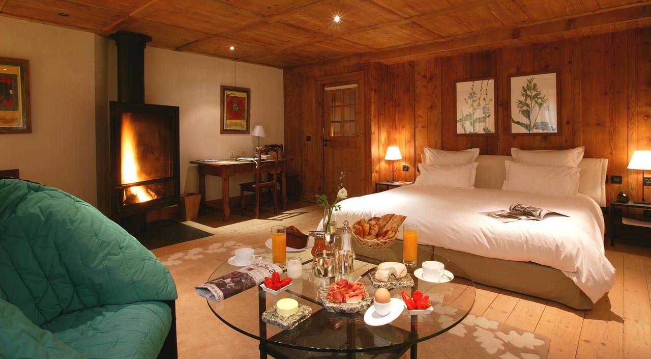 hotel luxe chamonix hameau albert 1er montagne