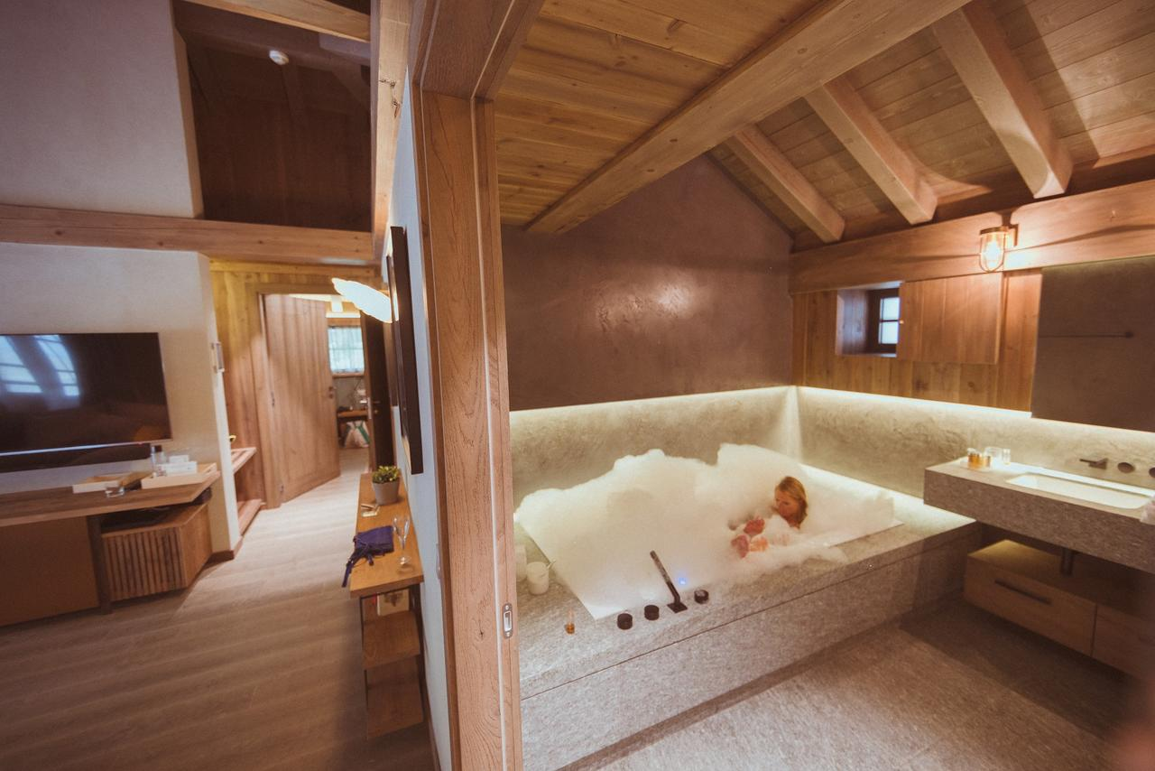 hotel luxe chamonix hameau albert premier spa montagne