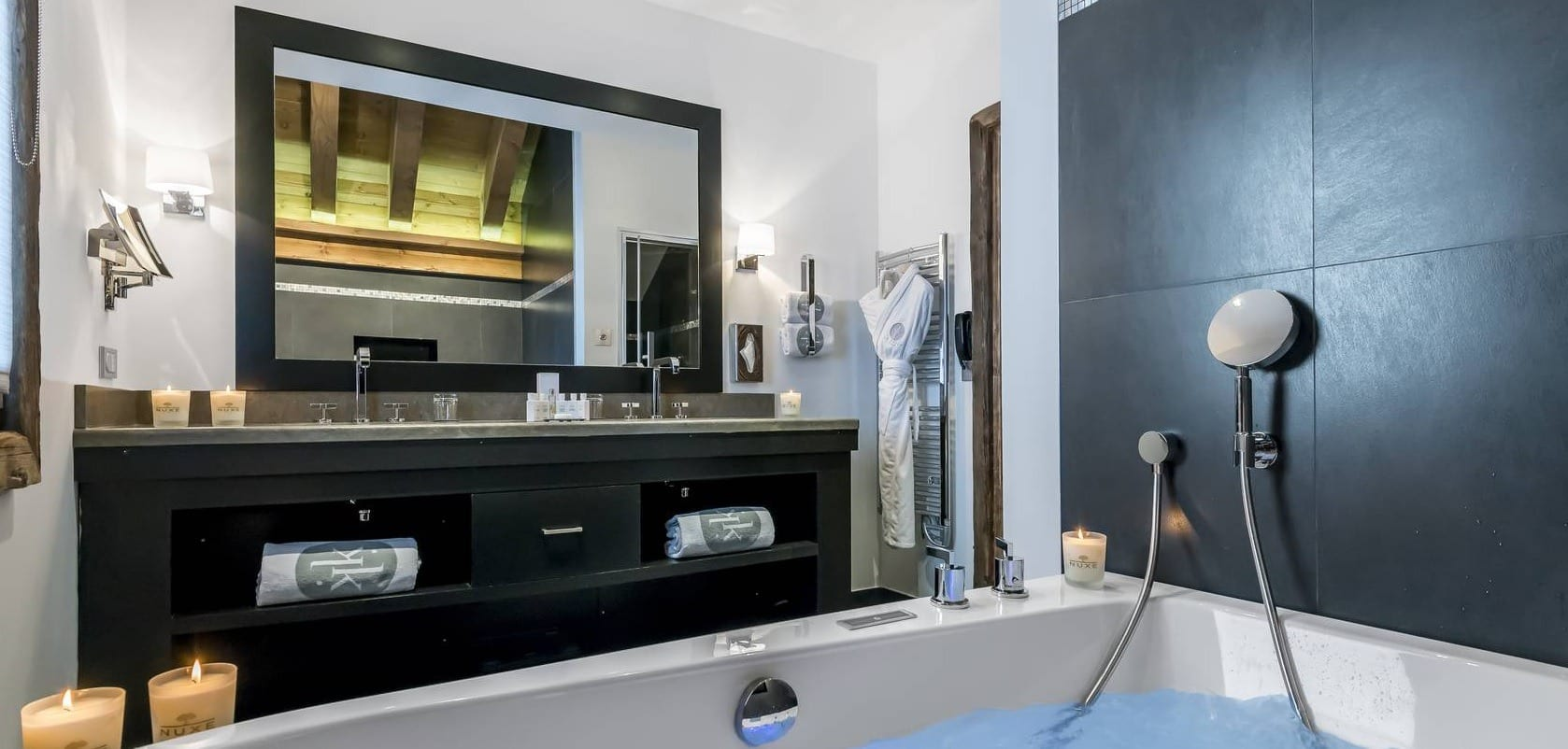 hotel luxe le kaila meribel etoile montagne piscine spa