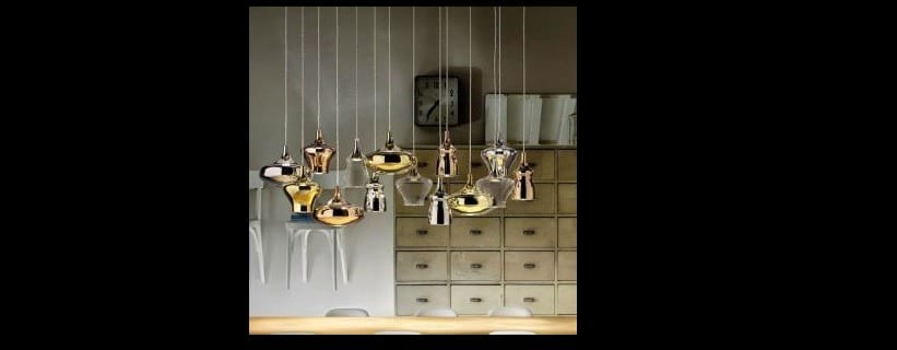 Les plus belles suspensions luxe dans les luminaires de Valente Design