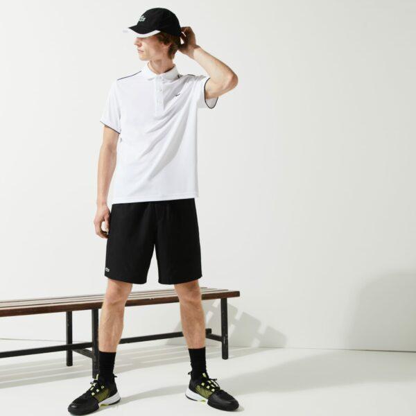 Short de tennis Lacoste SPORT  diamante uni Taille 9 – 4XL Noir