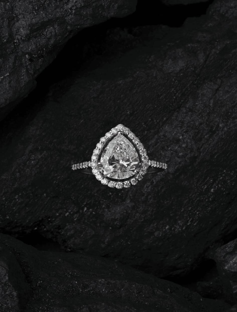 bague diamant luxe femme